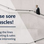Rub those sore sales muscles!