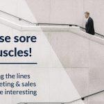 Rub those sore sales muscles!