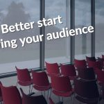 You don't get to chose your audience; your audience chooses you