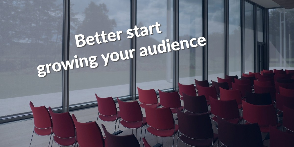 Read more about the article You don't get to chose your audience; your audience chooses you